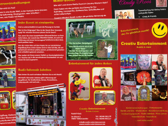 Creativ Entertainment Flyer